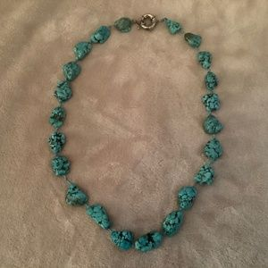 Real Turquoise necklace from Thailand